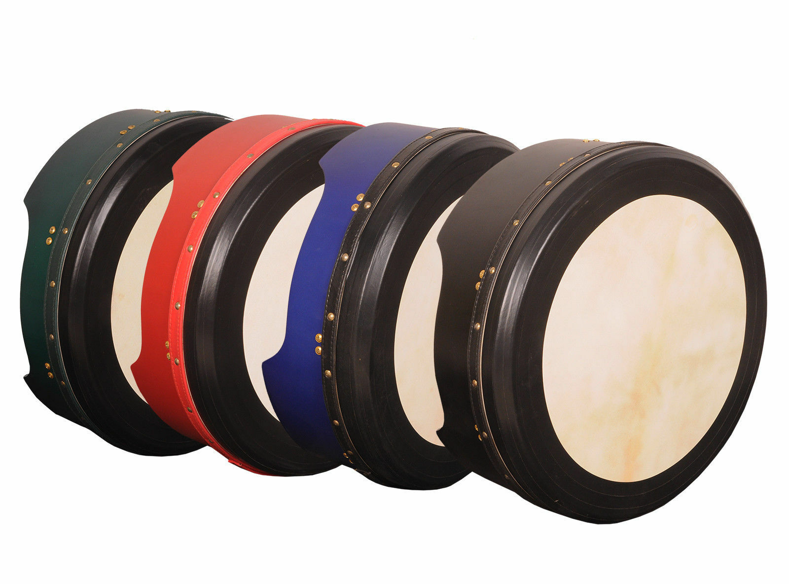 Muzikkon Irisch Bodhran, 40.6cmx15.2cm Bodhran Trommel Verstellbare & Pretuned