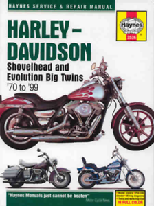 Harley-Davidson Shovelhead Evolution Big Twins Haynes Workshop ...