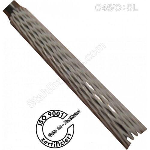 SL-Round-h6-Precision D 12mm Cut 1000mm Long Remuneration Steel c45 C
