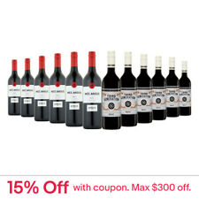 150+ Sold! $99 Delivered AU Merlot Red Wine 12x750ml RRP$319 Free Shipping/Retur