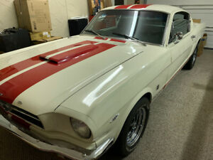 1965 Ford Mustang Fastback Numbers Match