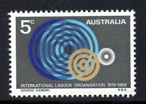 (ref-9178) Australie 1969 Organisation Internationale Du Travail Sg.439 Comme Neuf (neuf Sans Charnière)-afficher Le Titre D'origine