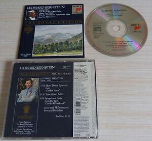 CD-THE-ROYAL-EDITION-LEONARD-BERNSTEIN-NEW-YORK-PHILHARMONIC-18-TITRES-1992