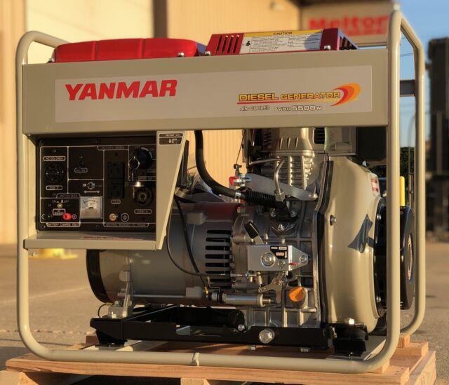 Diesel Generator For Sale >> Yanmar 6kw Diesel Generator With Wheel Kit