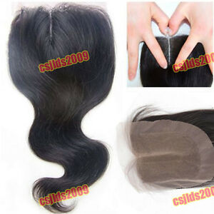 100-Brazilian-Remy-Virgin-Human-Hair-Top-Lace-Base-Closure-8-034-24-034-Body-Wave