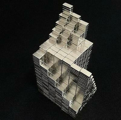 100pcs Super Strong Block Magnets 10mm x 5mm x 3mm Rare Earth Neodymium N50