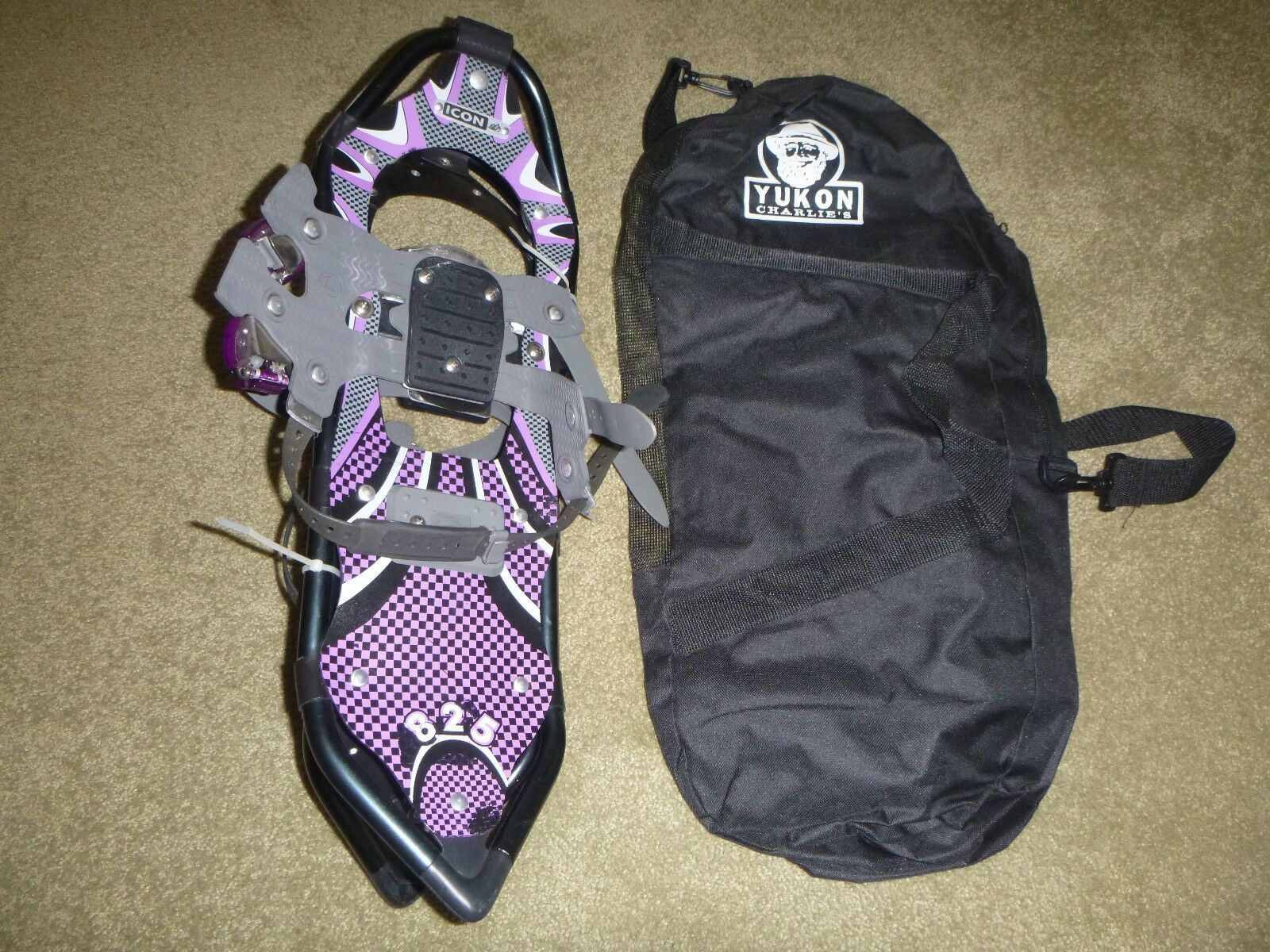 Yukon Charlie's Icon Beta 825 8  x 25  Snowshoes With Carrying Case