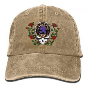 Unisex-Grateful-Dead-Adjustable-Baseball-Hat