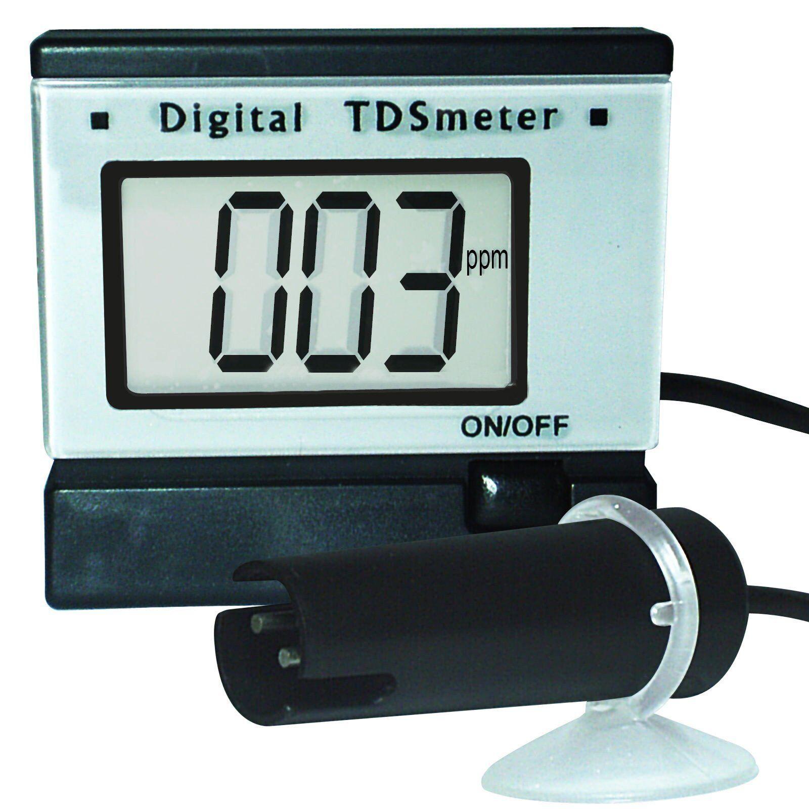 Medidor Digital TDS Tester Agua Acuario 0  1999 PPM (mg l) hydropnics Acuicultura