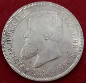 2000-REIS-DE-PLATA-DON-PEDRO-II-1888-BRASIL