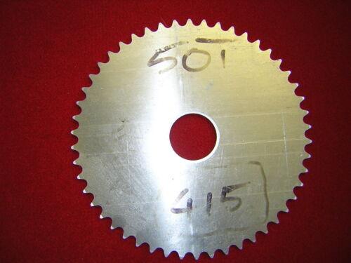 1//2 X 3//16//415 Pitch PIÑÓN de aleación en Blanco 31T nuevo, otros tamaños disponibles