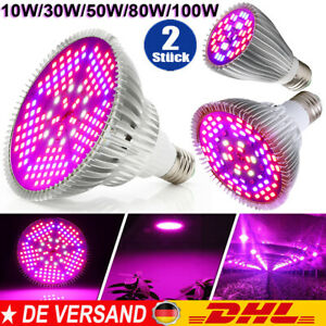 Vollspektrum LED Grow Light Flower Pflanzen Lampe Wachsen Licht 30W 50W 80W