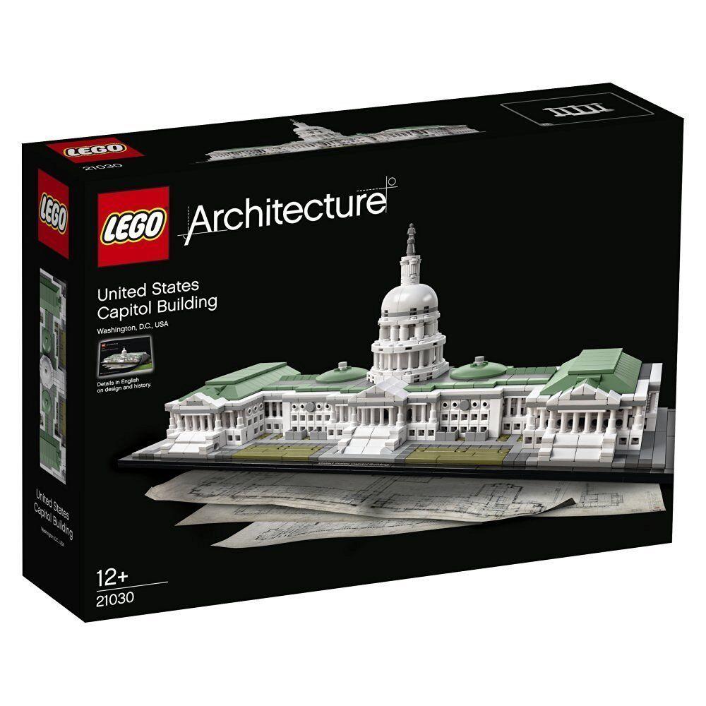 Lego Arquitectura 21030 el Kapitol Nuevo Embalaje Original Misb