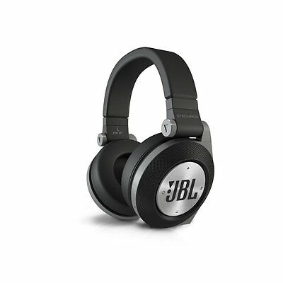 JBL Synchros E50BT E50 Black Bluetooth Wireless Headphones Headset Free Shipping
