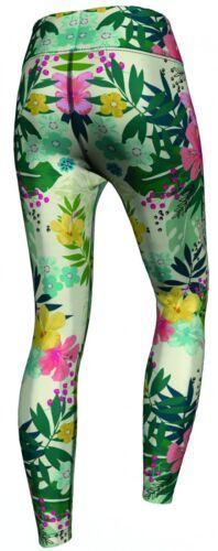 Tropical Floral Leggings dehnbar für Sport,Gymnastik,Training,Tanzen /& Freizeit