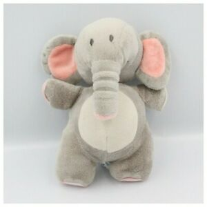 Doudou-musical-elephant-gris-rose-BABYLOVE-Elephant-Sonore-vibrant