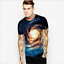 Summer-Mens-3D-Print-Short-Sleeve-Casual-Slim-Fit-T-Shirts-Graphic-Tee-Shirt-NEW thumbnail 2
