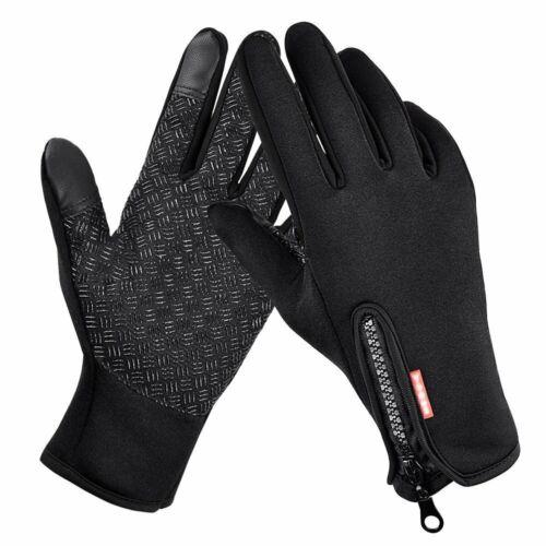 Winter Handschuhe Damen Herren Fingerhandschuhe Touchscreen Wasserdicht Durable