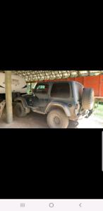 1997 jeep tj with low KM!