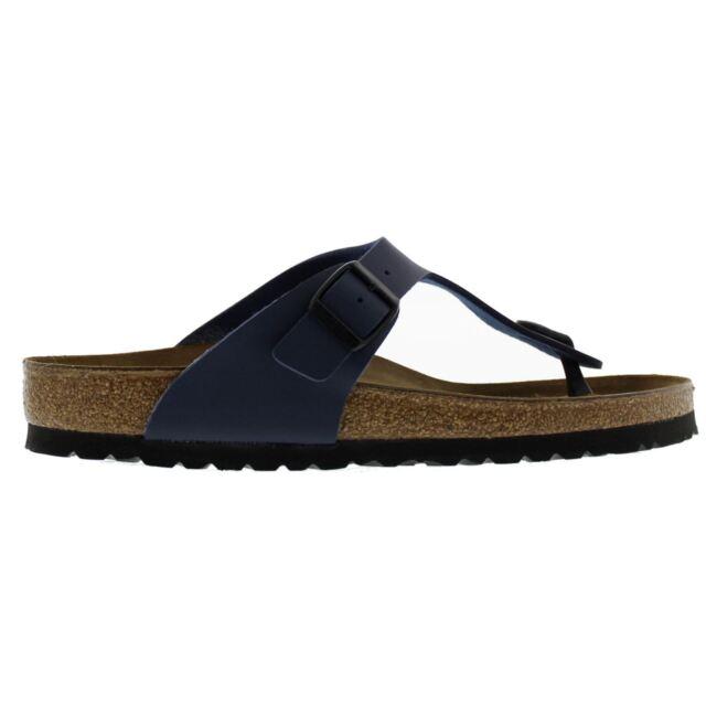 Birkenstock Gizeh Blue Mens Sandals