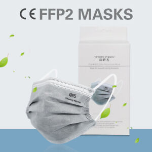 10 masques de protection à 5 couches (FFP II)