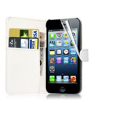 New Wallet Flip PU Leather Phone Case Cover For Apple iPhone Samsung Galaxy Note
