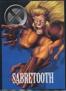 1996-Marvel-Vision-Trading-Card-47-Sabretooth