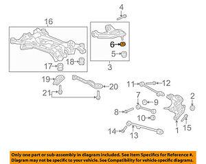 Details about Acura HONDA OEM 09-14 TL Rear Suspension-Upper Control Arm  C-Clip 51226SL0003