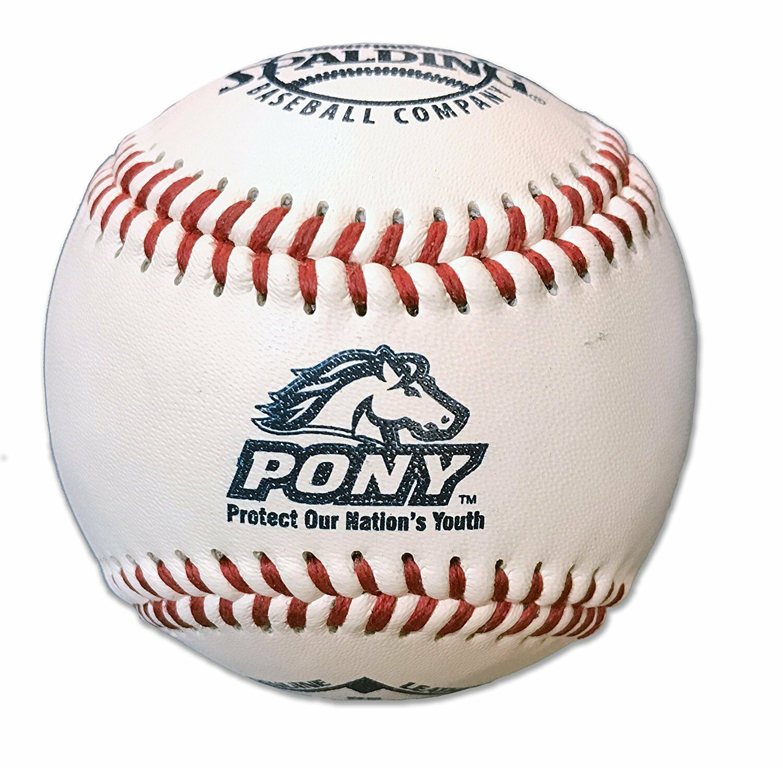 Béisbol Liga De La Juventud Pony-Paquete de 12