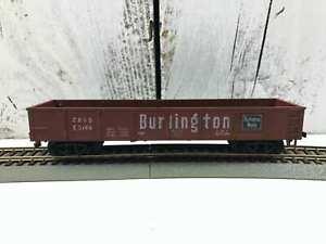 Vintage-1967-HO-Scale-Car-Model-Train-HO-Burlington-Route-Gondola-CB-amp-Q