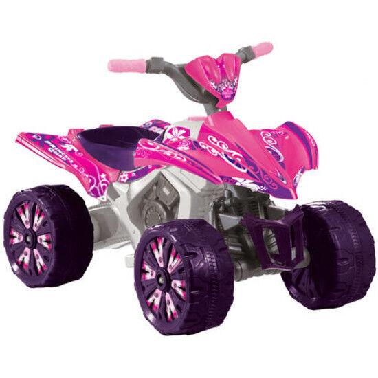 Junge motorz 6v xtreme original - top qualität batteriebetrieben fahren, Rosa atv