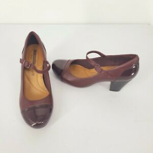 CLARKS Collection Soft Cushion Maroon