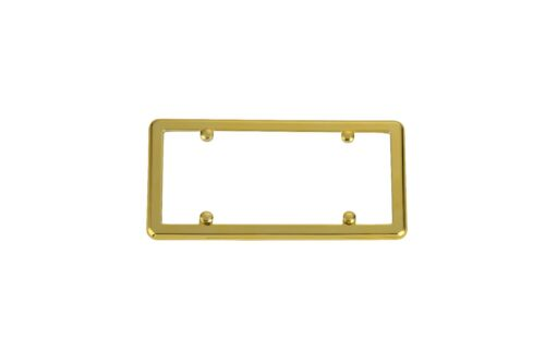 Gold Frame 4 Gold Screw Caps for BMW