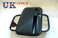 Set of 2x Universal Side Wing E marked Mirror fit Truck Bus Lorry size 36x18cm