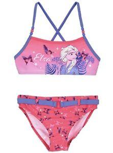 Disney Frozen 2 Costume da bagno 2 pezzi bikini bambina Mare Piscina 4-5-6-8anni
