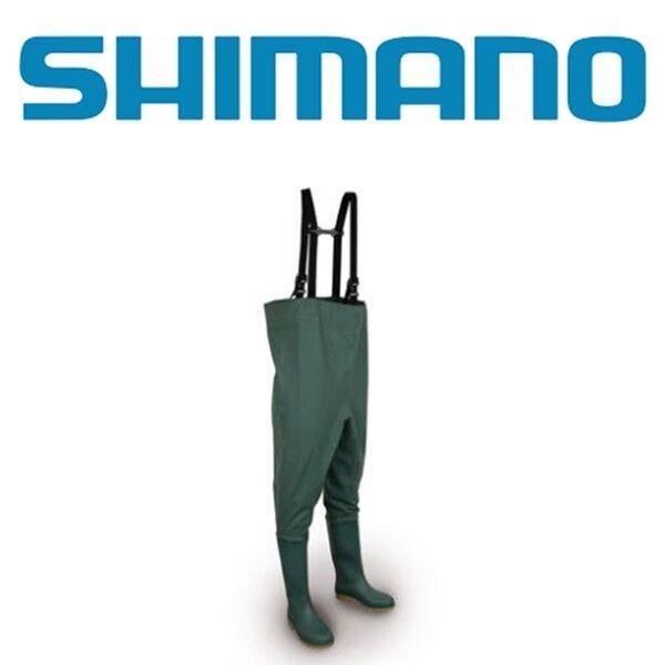 nuovo Shiuomoo STIVALI WADER PVC  IMPERMEABILI CON STIVALE GOMMATO GAMMA COMPLETA