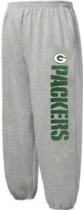 Green-Bay-Packers-NFL-Critical-Victory-Mens-Gray-Sweatpants-Big-amp-Tall-Sizes