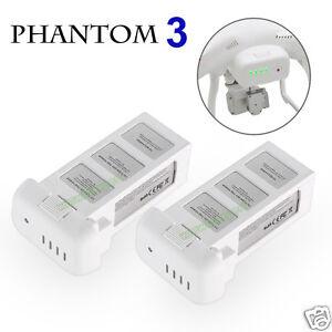 2-Pack-Intelligent-LiPo-Battery-For-DJI-Phantom-3-Pro-Advanced-Standard-4K