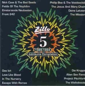 Zillo-Jubilaeums-Compilation-1989-1994-Nick-Cave-amp-The-Bad-Seeds-Walkab-CD