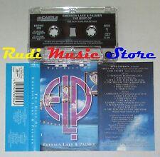 MC ELP EMERSON LAKE & PALMER The best of 1995 england ESSENTIAL cd lp dvd vhs