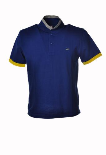 Polo Mâle Bleu Sun 68 3196414A184042
