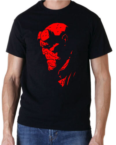 HELLBOY INSPIRIERT COMIC SUPERHELD COOL T-SHIRT