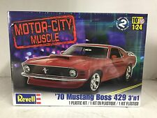 +++ Revell US Monogram 1/24 Motor City Muscle '70 Boss 429 Mustang 3 'n  85-2149