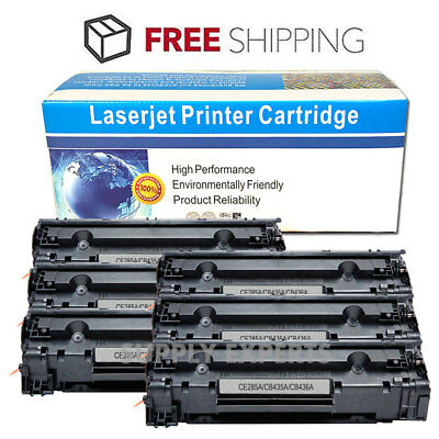1 X Black Toner Cartridge CB436A CB436 36A For HP LaserJet P1100 P1102 P1102W