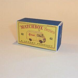 Matchbox Lesney Special  Lot// 3 X empty Repro E style Box