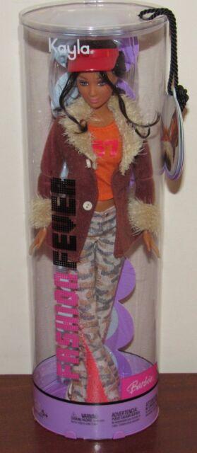 2004 Fashion Fever Kayla NRFB Barbie #H0650 Brown Jacket, Camouflage Pants