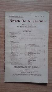 British-Dental-Journal-VOL-XL-N-18-London-1919-ABE