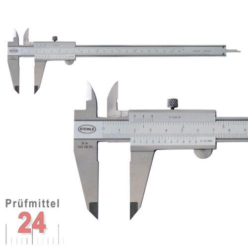 STEINLE  Messschieber Schieblehre 150 mm 0,05 mm NEU OVP