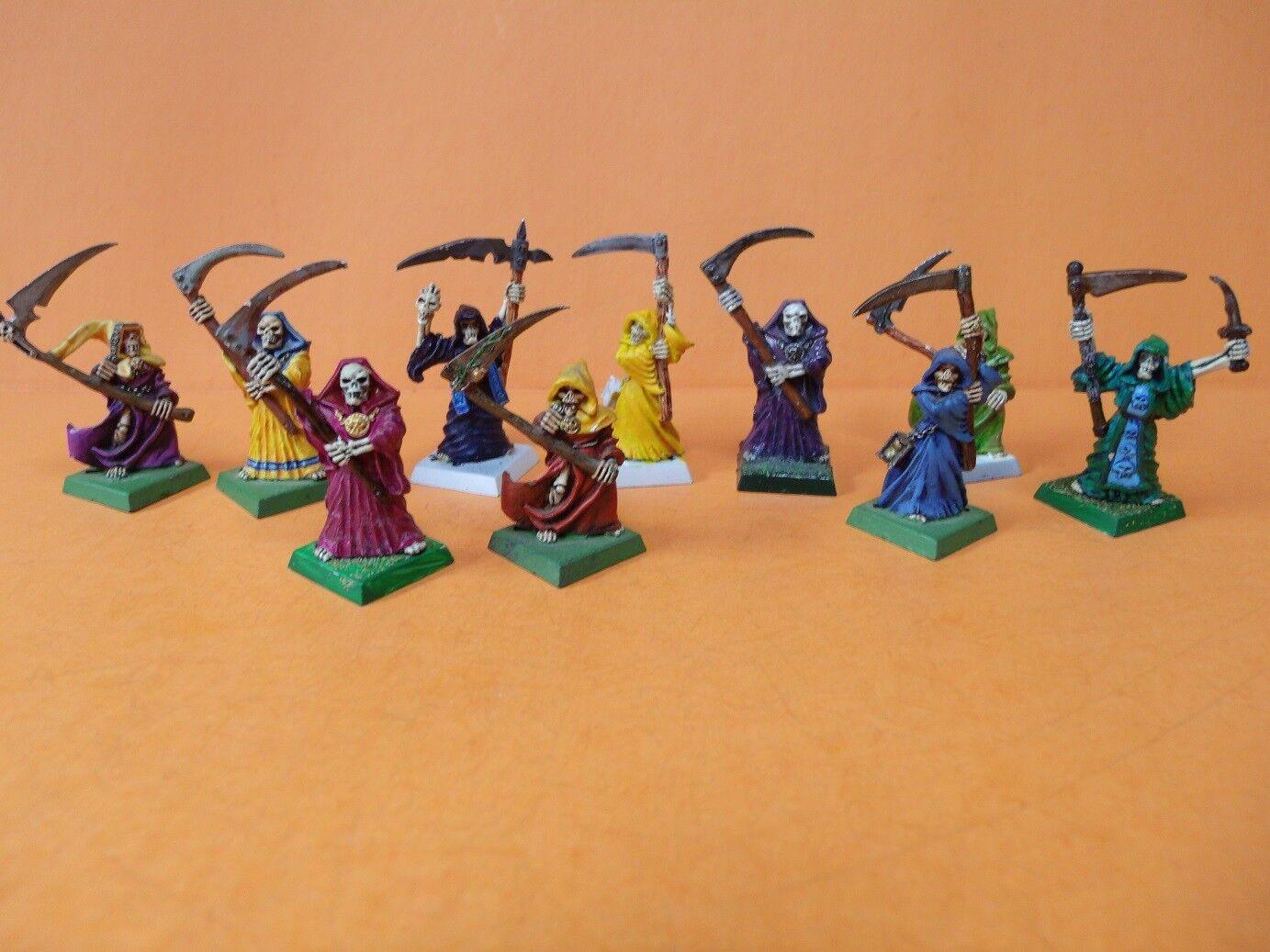 GW WARHAMMER (ciudadela) espectro no muertos Condes Vampiro (10) (bien pintura de metal)