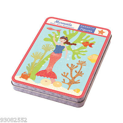 Create & design with this Magnetic Design  Set - Mermaids Design by Mud Puppy